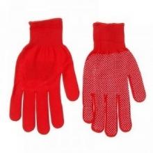 Перчатки нейлоновые Микроточка (красные) - Семена Тут
