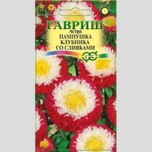 Астра Пампушка клубника со сливками - Семена Тут