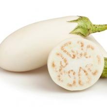 Баклажан Белый голубь - Семена Тут