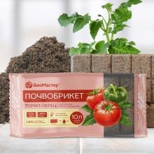 Почвобрикет Томат и перец 10л БиоМастер - Семена Тут