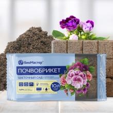 Почвобрикет Цветочный сад 10л - Семена Тут