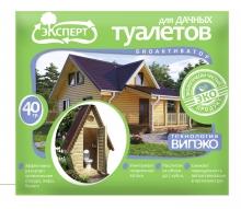 Биоактиватор Эксперт Для дачных туалетов 40гр - Семена Тут