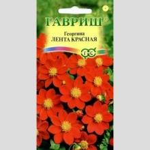 Георгина Лента красная - Семена Тут