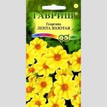 Георгина Лента золотая - Семена Тут