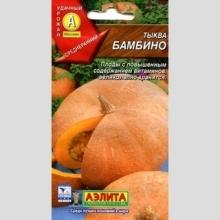 Тыква Бамбино крупноплодная - Семена Тут