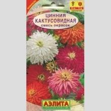 Цинния Кактусовидная смесь - Семена Тут
