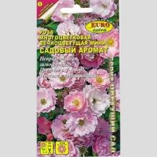 Роза Садовый аромат многоцветковая смесь - Семена Тут