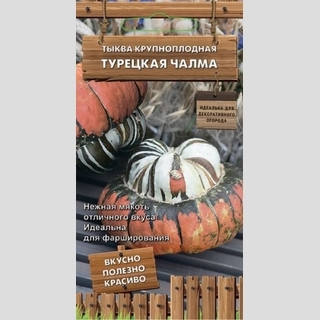 Тыква Турецкая чалма - Семена Тут
